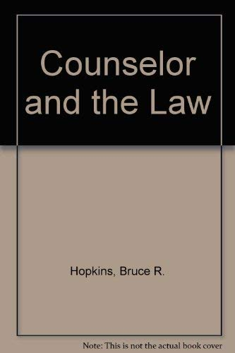 9780317369113: Counselor and the Law