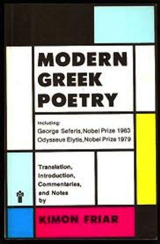9780317389678: Modern Greek Poetry