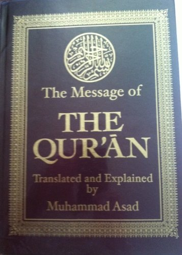 9780317524567: Message of the Quran