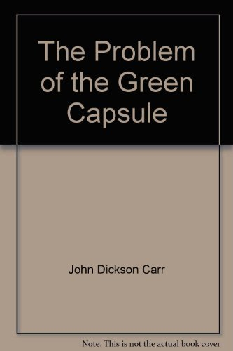 9780317527261: The Problem of the Green Capsule