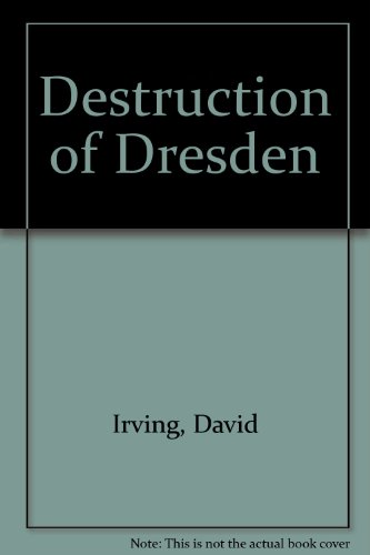 9780317532852: Destruction of Dresden