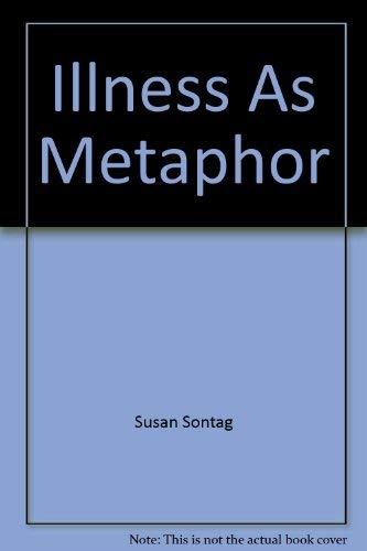 9780317675078: Illness As Metaphor