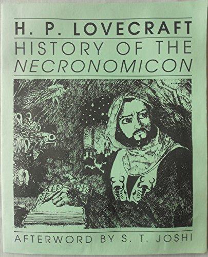 9780318047157: History of the Necronomicon