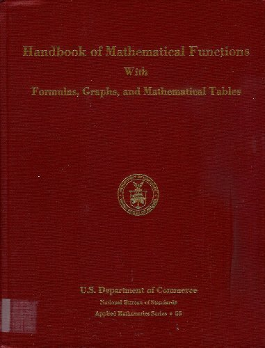 9780318117300: Handbook of Mathematical Functions, with Formulas, Graphs and Mathematical Tables