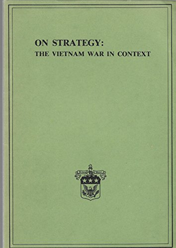 9780318118093: On Strategy: The Vietnam War in Context