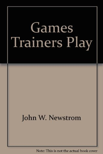 9780318132716: Games Trainers Play (McGraw-Hill Training Series)