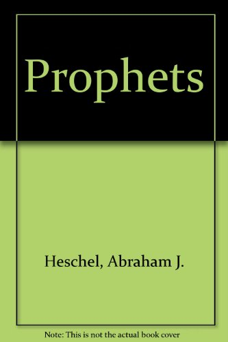 9780318146577: The Prophets