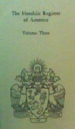 9780318410289: 003: Heraldic Register of America