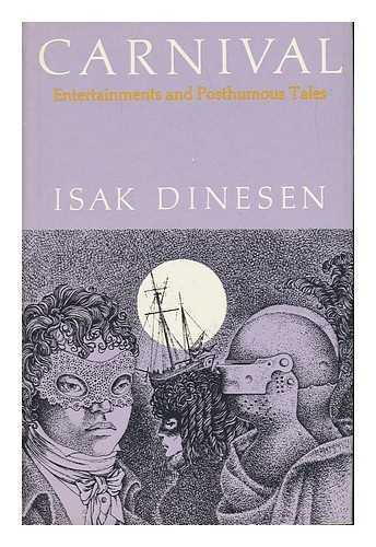 9780318560212: Carnival, Entertainments and Posthumous Tales.