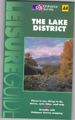 9780319008355: Leisure Guide: Lake District (New leisure guide)