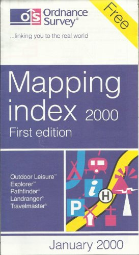 9780319009543: Mapping Index 2000 (Map Guide)