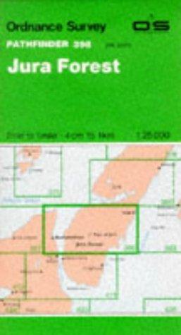 9780319203989: Jura Forest (Pathfinder Maps)