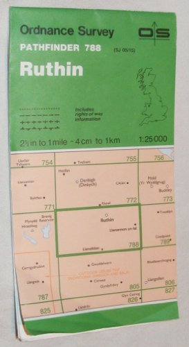 Ruthin Pathfinder map sheet 788
