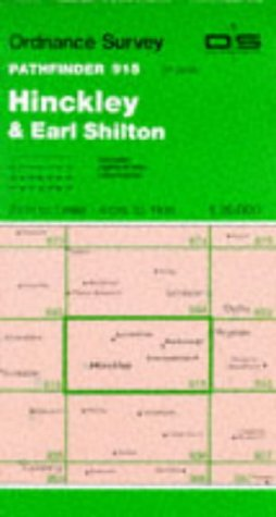 9780319209158: Hinckley and Earl Shilton (Pathfinder Maps)