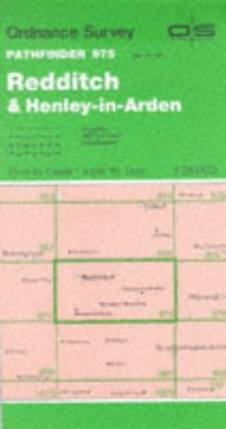 9780319209752: Redditch and Henley-in-Arden (Pathfinder Maps)