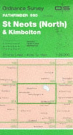 9780319209806: St.Neots (North) and Kimbolton (Pathfinder Maps)