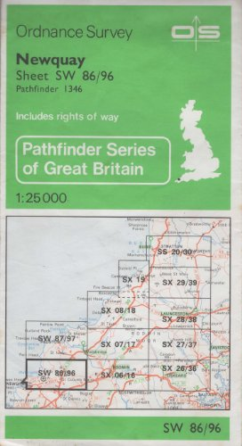 9780319213469: Pathfinder Maps: Newquay Sheet 1346 (SW86/96)