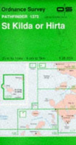 9780319213735: St.Kilda or Hirta (Pathfinder Maps)