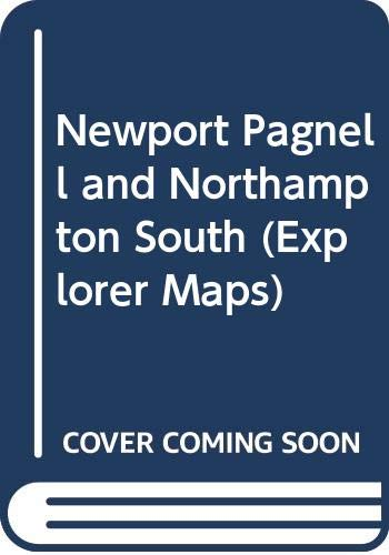 9780319218389: Newport Pagnell and Northampton South. Towcester & Olney: Explorer Map 207 (Explorer Maps)