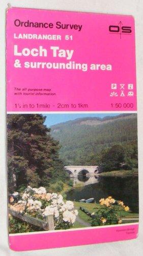 Landranger Map 0051: Loch Tay & Surrounding: Ordnance Survey