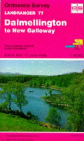 9780319220771: Dalmellington to New Galloway (Landranger Maps)