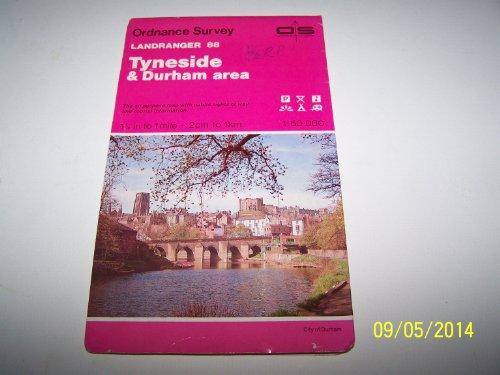 Landranger Maps: Tyneside and Durham Area Sheet: Ordnance Survey