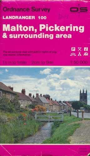 Landranger Maps: Malton, Pickering and Surrounding Area: Ordnance Survey