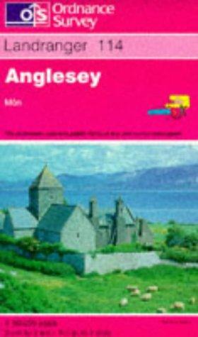 9780319221143: Anglesey (Landranger Maps)