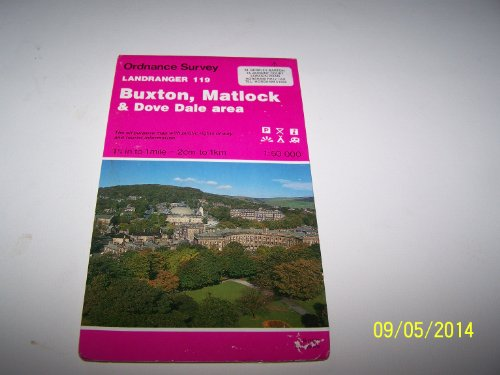 Buxton, Matlock and Dove Dale Area (Landranger: Ordnance Survey