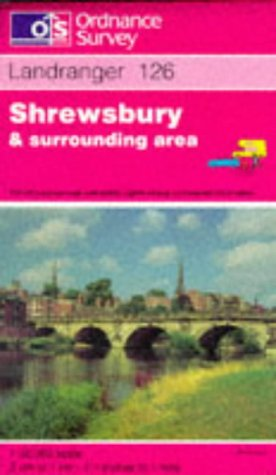 9780319221266: Shrewsbury and Surrounding Area (Landranger Maps)