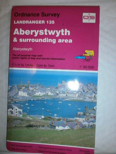 9780319221358: Landranger Maps: Aberystwyth and Surrounding Area Sheet 135 (OS Landranger Map)