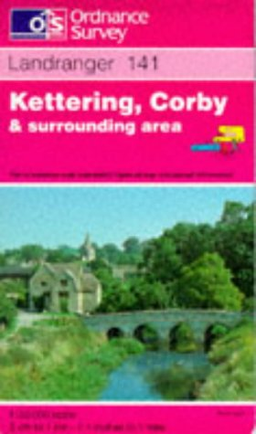 9780319221419: Kettering, Corby and Surrounding Area (Landranger Maps)