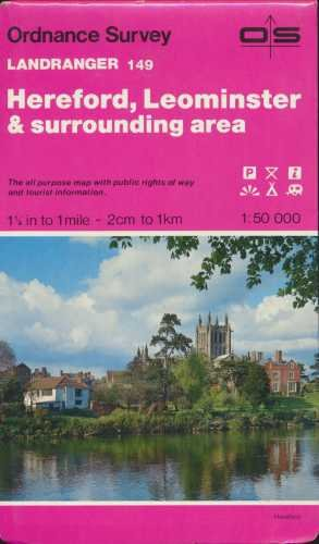 Hereford, Leominster and Surrounding Area (Landranger Maps): Ordnance Survey