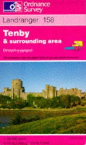 Tenby and Surrounding Area (Landranger Maps): Ordnance Survey