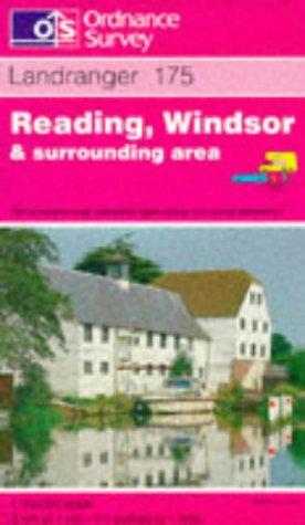 Reading, Windsor and Surrounding Area (Landranger Maps): Ordnance Survey