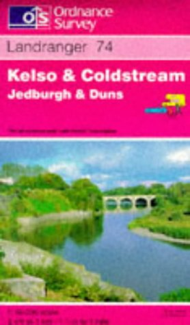9780319222676: Kelso and Coldstream, Jedburgh and Duns (Landranger Maps)