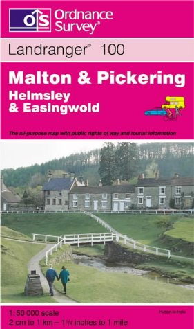 Malton and Pickering, Helmsley and Easingwold (Landranger: Ordnance Survey