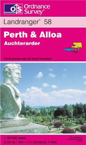 9780319223536: Perth and Alloa, Auchterarder (Landranger Maps)