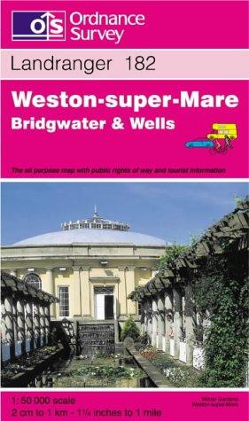 Weston-super-Mare, Bridgwater and Wells (Landranger Maps): Ordnance Survey