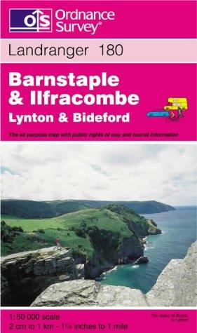 9780319223956: Barnstaple and Ilfracombe, Lynton and Bideford (Landranger Maps)