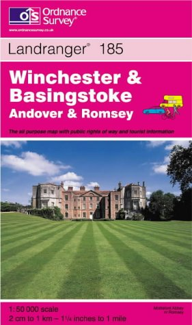 9780319224922: Winchester and Basingstoke, Andover and Romsey (Landranger Maps)