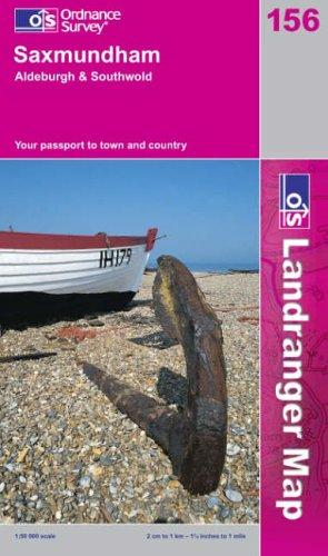 Saxmundham, Aldeburgh and Southwold (Landranger Maps): Ordnance Survey