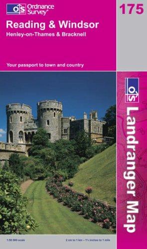 9780319227756: Reading and Windsor, Henley-on-Thames and Bracknell (Landranger Maps)
