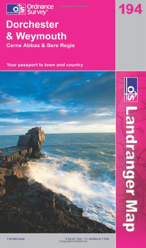 Dorchester and Weymouth, Cerne Abbas and Bere: Ordnance Survey