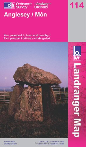 9780319228906: Anglesey (Landranger Maps) 114 (OS Landranger Map)