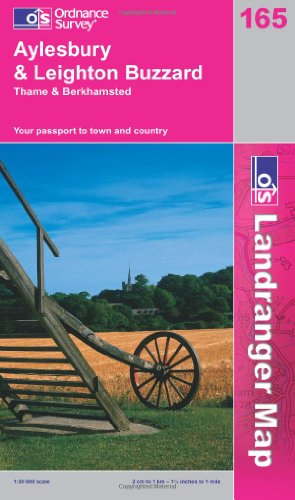 9780319229163: Aylesbury and Leighton Buzzard, Thame and Berkhamstead (Landranger Maps) 165 (OS Landranger Map)