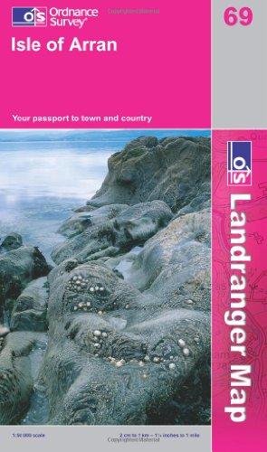 9780319229644: Isle of Arran (Landranger Maps) (OS Landranger Active Map)