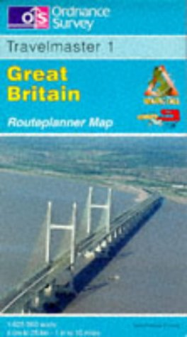 9780319230213: Travelmaster: Great Britain Routeplanner Map Sheet 1 (English, French and German Edition)
