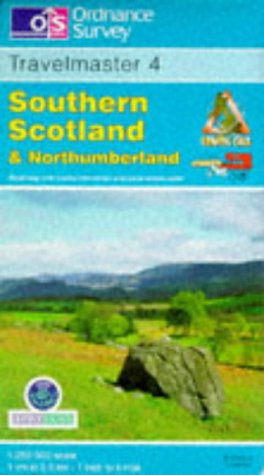 9780319230237: Travelmaster: Southern Scotland and Northumberland Sheet 4 (English, German and French Edition)