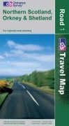 9780319230770: Northern Scotland, Orkney and Shetland (OS Travel Map - Road Map)